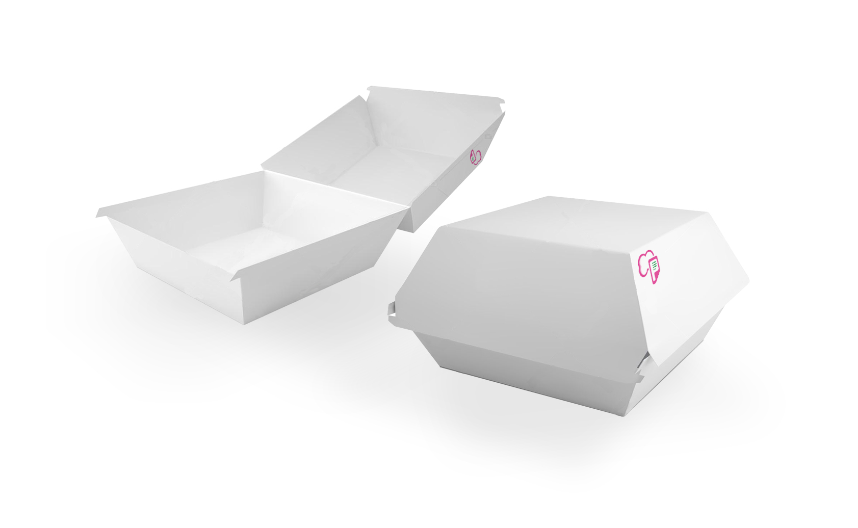 Box Burger (Ivory Paper/Eco Paper)
