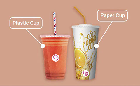 Drink Cup (Plastic/Paper)